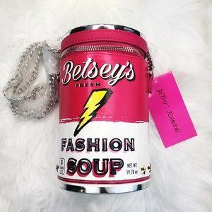 🦄 NWT Betsey Johnson Novelty Crossbody Bag